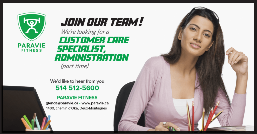 Paravie Fitness, Join our Team 2018